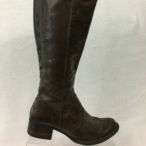 Born Crown Roxie Knee High Riding Boots 36 US 5.5M